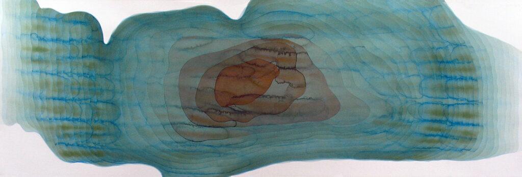 Dead Zone (Lake Erie), watercolor